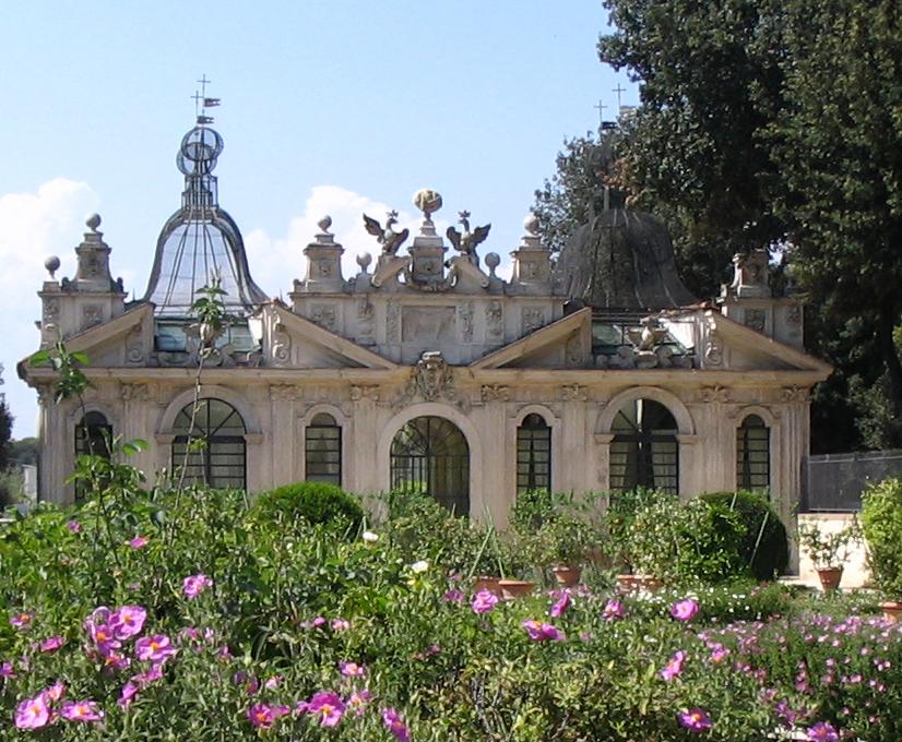 Uccelliera Villa Borghese Pianta Nolli